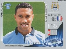N°249 GAEL CLICHY # FRANCE MANCHESTER CITY CHAMPIONS LEAGUE 2013 STICKER PANINI