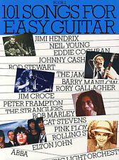 101 Songs For Easy Guitar Learn to Play Rock Pop Piano Lyrics Music Book 2