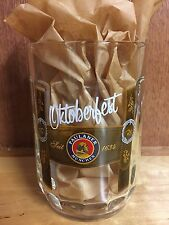 *NEW* Paulaner Limited Edition Oktoberfest Glass Mug - Lederhosen Edition