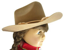 "Tan Cowboy Cowgirl Western Hat Yeehaw  for 18"" American Girl Doll Clothes"