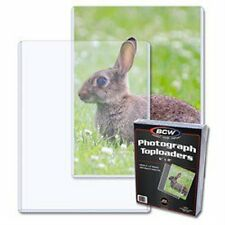 1 Pack of 25 BCW 6 x 8 Photo Topload Holders Storage Protection