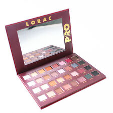 32 Colors Lorac Pro Makeup Warm Matte Eyeshadow Palette Cosmetic Mirror Set Kit