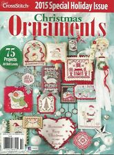 BRAND NEW!!! 2015 Just Cross Stitch CHRISTMAS ORNAMENTS Issue
