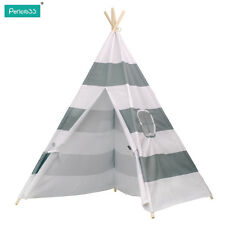 WIGWAM KIDS CHILDRENS INDOOR OUTDOOR INDIAN TEEPEE PLAY HOUSE TENT 145CM