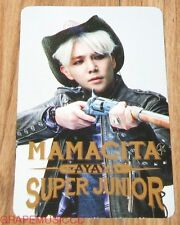 SUPER JUNIOR SJ MAMACITA AYAYA SM LOTTE POP UP KANGIN PHOTOCARD PHOTO CARD NEW