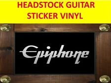 EPIPHON SILVER DECAL HEADSTOCK STICKER VISIT OUR STORE WITH MANY MORE MODELS