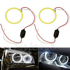 1PC 70mm COB LED Angel Eye Halo Ring Bulbs Car Decoration Light White Ring new