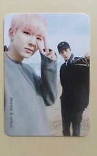 Monsta X [The memories] in November Official Goods photocard - Kihyun & Minhyuk
