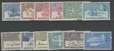 BRITISH ANTARCTIC TERR. SG1/12 1963 DEFINITIVE SET TO 2/6 MTD MINT