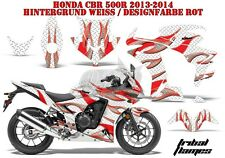 AMR RACING DEKOR GRAPHIC KIT HONDA CBR 250, 500R, 600RR, 1000RR TRIBAL FLAMES B