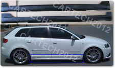 Audi A3 8P (2004-2011)  Side Skirts ( LOOK VOTEX ) Sportback 5 Door, tuning