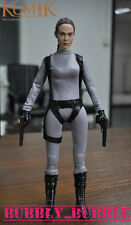 KUMIK Angelina Jolie Tomb Raider Lara Croft 1/6 Figure Clothing Set SHIP FROM US