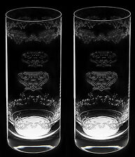 Hendricks Gin Lead Crystal Tall Glass New X 2