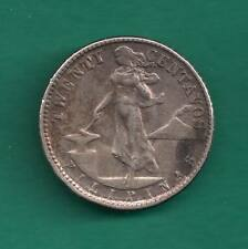 1945-D Philippines US Administration 20 Centavos Denver Mint WW2 Silver Coin