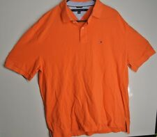Tommy Hilfiger Polo Shirt Mens Short Sleeve Classic Fit Mesh New XL