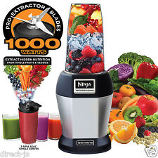 Nutri NINJA BL455 Professional 1000 watts Personal Blender Bonus Set with 3-Sip