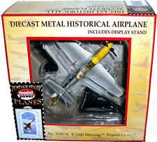 Postage Stamp Planes P-51D Mustang Pegasis Die-Cast WWII Airplane 5324-6 MIB Toy