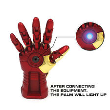 16Gb Super Man Iron Robot Hand LED Light Memory Stick Novelty USB Flash Drive