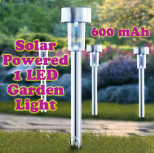 Solar Powered Rechargeable LED Lawn Garden Light Lamp Waterproof