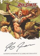 "Red Sonja Breygent - RSA-JJB ""J.G. Jones"" Autograph Card"