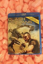 Clash of the Titans (Blu-ray Disc, 2012) Blu-ray Disc and Disc Cover no digital