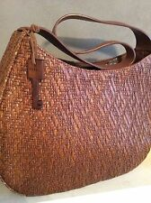 Fossil Brown Textured Bag, (nwts)