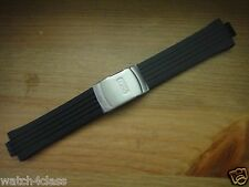 Genuine Oris Rubber.silicon Band.strap.bracelet#42501 & s/s Buckle - Williams F1