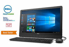 "NEW DELL All in One Desktop Computer 19.5"" Windows 10 WiFi DVD+RW (FULLY LOADED)"