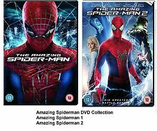 AMAZING SPIDER-MAN PART 1 2 DVD Andrew Garfield SPIDER MAN SPIDERMAN Sealed