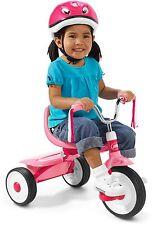 Radio Flyer Folding Trike, Pink, Tricycle, Kids Bike Ride Kid Toddler Toy