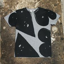 NEW Marc Jacobs Black & Grey Graphic T-Shirt GENUINE RRP: £170 BNWT - Size: S