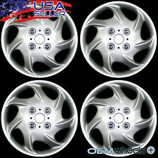 "4 NEW OEM SILVER 15"" HUB CAPS FITS 1993-CURRENT NISSAN ALTIMA WHEEL COVERS SET"