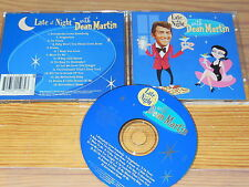 DEAN MARTIN - LATE AT NIGHT WITH...... / ALBUM-CD 1999 MINT-