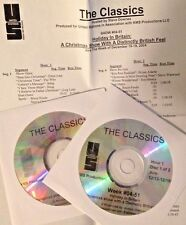 Radio Show: THE CLASSICS 12/18/04 CHRISTMAS IN BRITAIN! 2 HRS 2 CD's 23 TUNES