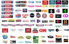 12 MONTHS IPTV SUBSCRIPTION MAG 254/250 2500 CHANNELS FULL SKY UK AND EUROPE