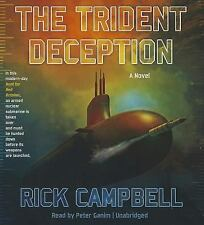 The Trident Deception by Rick Campbell (2014, CD, Unabridged, Audiobook) *NEW*