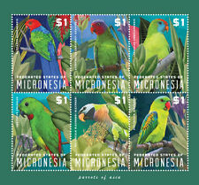 Micronesia - Parrots of Asia, 2014 - S/H MNH