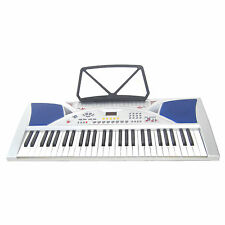 Clavier MK2054 LCD 54 Touches E-Piano Keyboard Fonction Enseignement Intelligent