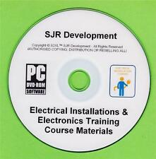 Electronics Electrical Installations PAT Testing Training Course Materials 3in1