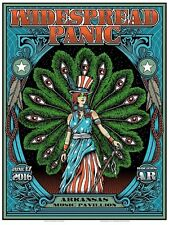 2016 WIDESPREAD PANIC ROGERS LADY LIBERTY CONCERT POSTER 6/17 S/N #/50 AE AR