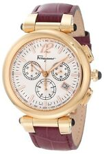 Salvatore Ferragamo Women's F77LCQ5091 SB42 Idillio Gold Ion Plated Purple Watch