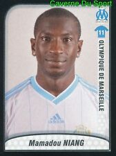259 MAMADOU NIANG SENEGAL OLYMPIQUE MARSEILLE OM STICKER FOOT 2010 PANINI