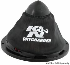 RC-5052DK K&N Air Filter Wrap DRYCHARGER; APOLLO, BLACK