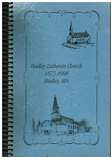 *HADLEY MN 1998 LUTHERAN CHURCH COOK BOOK *ETHNIC & LOCAL FAVORITE RECIPES *RARE