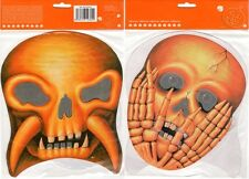 MASCHERA HORROR HALLOWEEN MOSTRO TESCHIO set di 2 - Paper Horror Mask