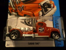 HW HOT WHEELS 2015 HW CITY #2/250 TURBINE TIME SEMI TRUCK HOTWHEELS RED VHTF