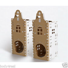 CAT Activity Centre gattino cartone scatole PLAY TOY BOX CARD Tunnel Gatti Gattini