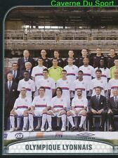 210 EQUIPE TEAM 1/2 FRANCE OLYMPIQUE LYONNAIS STICKER FOOT 2010 PANINI