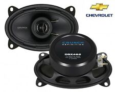 CRUNCH  6x4 COAXIAL SPEAKER FOR CHEVROLET Kalos - 2002-2011 STRAIGHT FIT