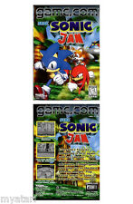 Sonic Jam (Game.Com, 1998) NEW SEALED!  GAME.COM/Tiger